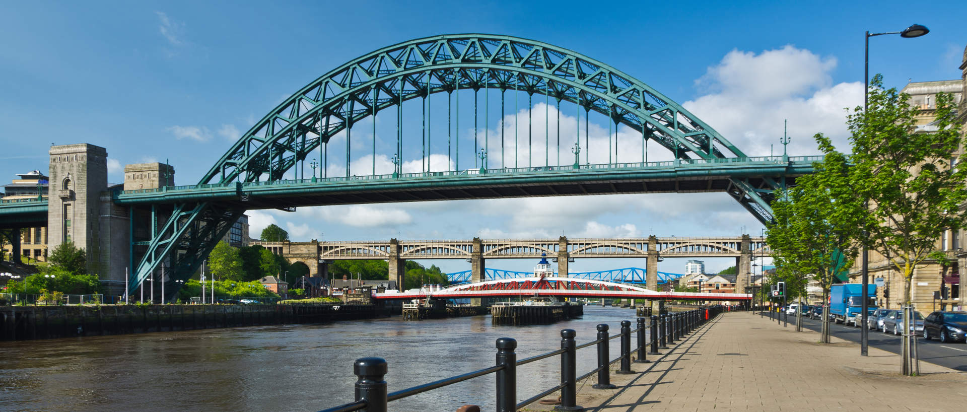 Tyne Bridge near PREMIER SUITES Newcastle