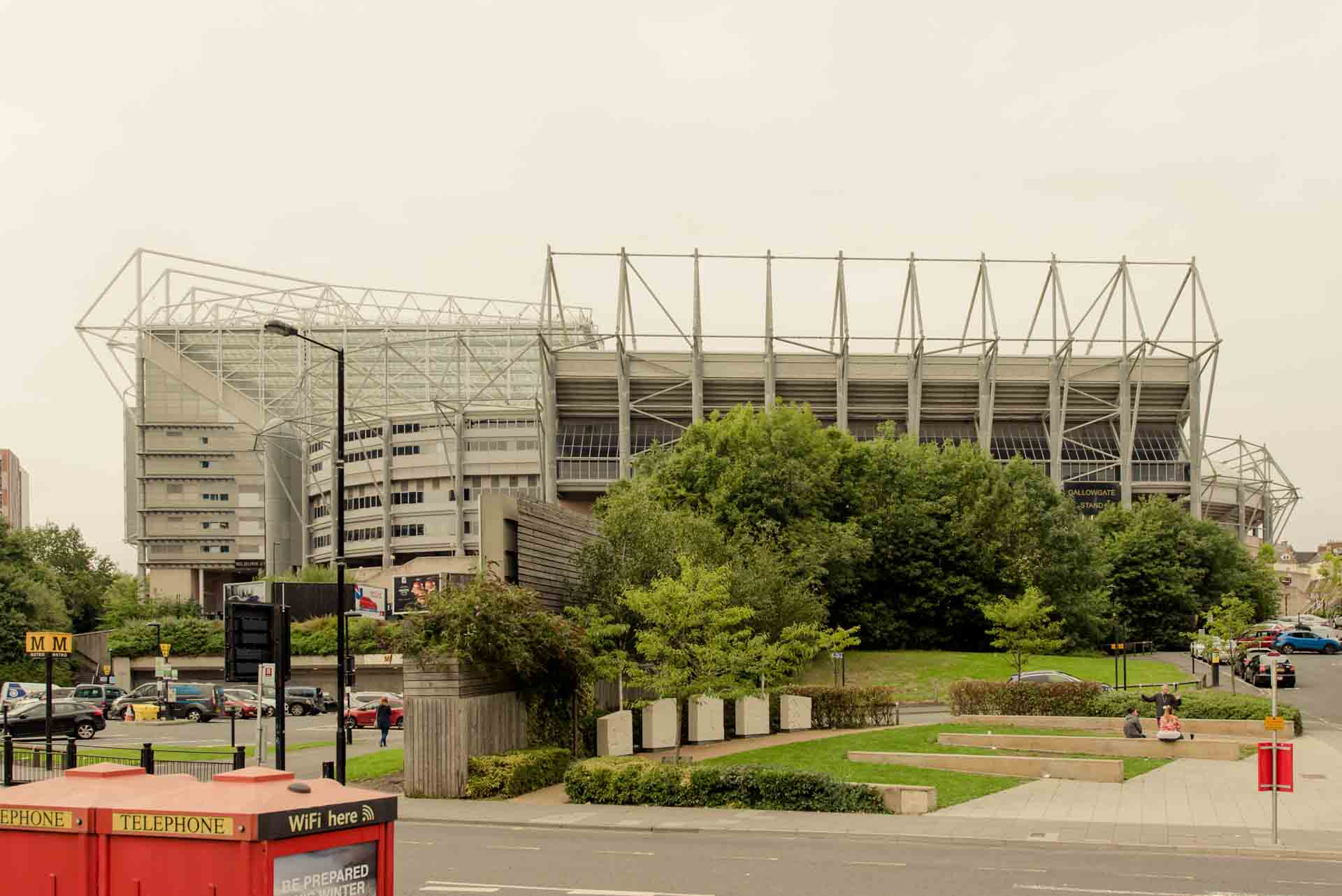 PREMIER SUITES Newcastle is just a short walk from St James' Park